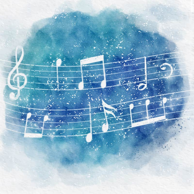 watercolor-background-with-musical-notes