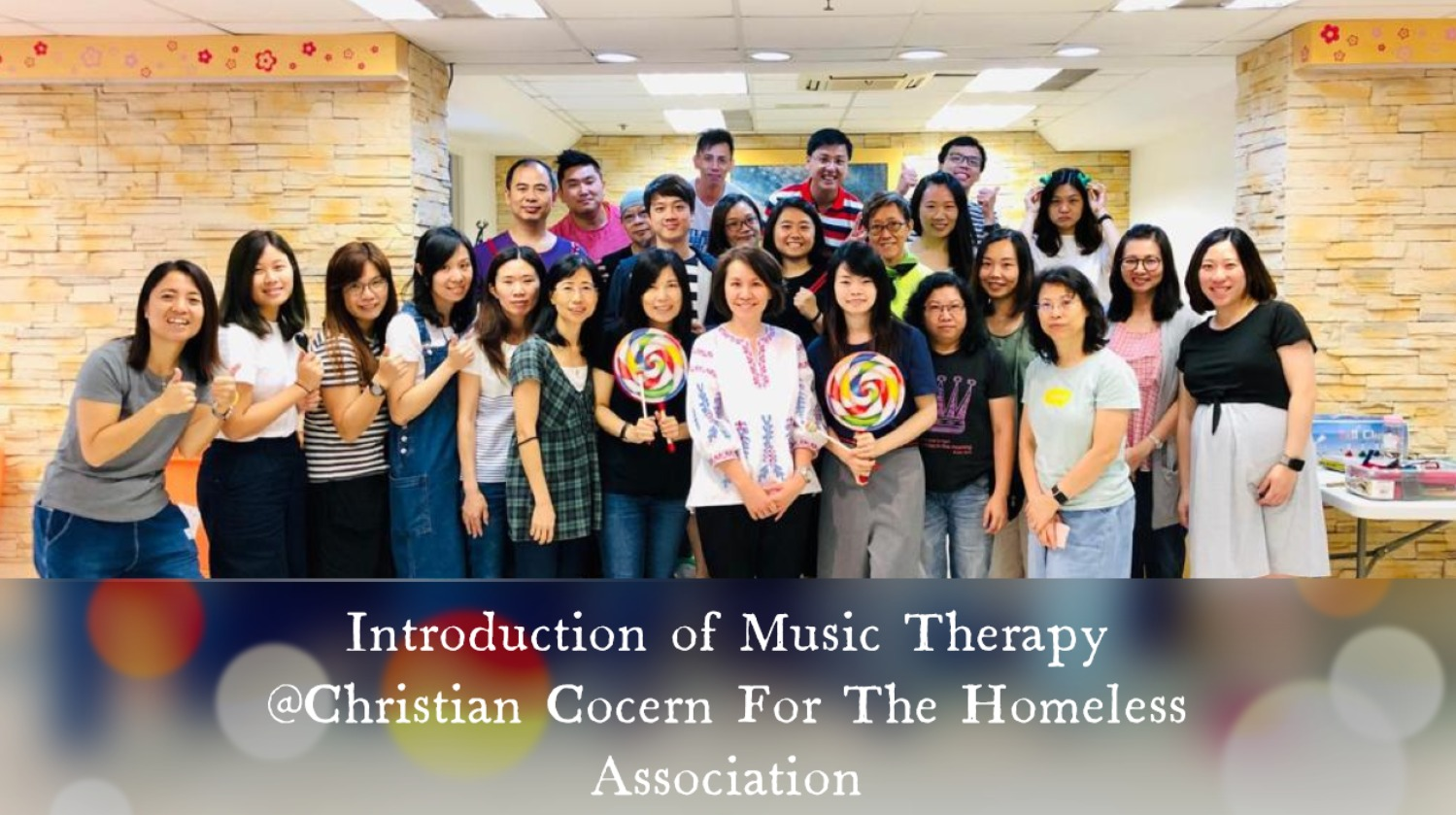 Introduction of Music Therapy @CCGTHA